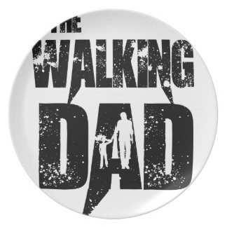 The Walking Mom Plate