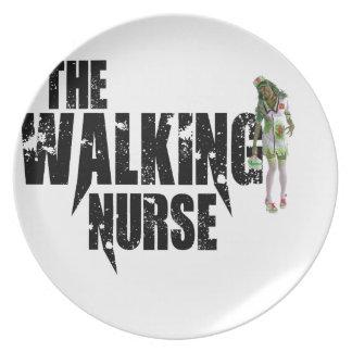 The Walking Nurse Plate
