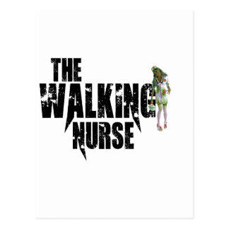 The Walking Nurse Postcard
