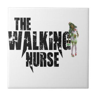 The Walking Nurse Tile