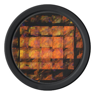 The Wall Abstract Art Set Of Poker Chips
