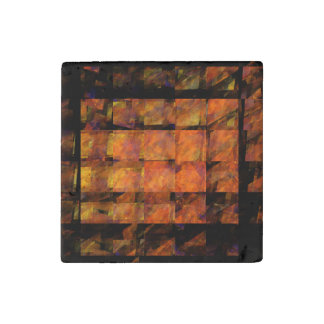 The Wall Abstract Art Stone Magnets