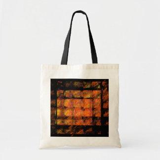 The Wall Abstract Art Tote Bag