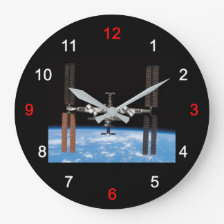 "The wall-mounted clock ""of International Space"