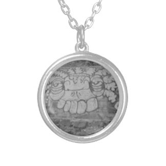 The Wall Silver Plated Necklace