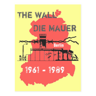 The wall special Design Postcard
