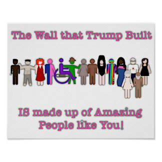 The Wall that Trump Built Poster