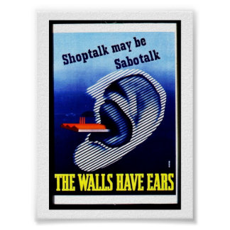 The Walls Have Ears Poster
