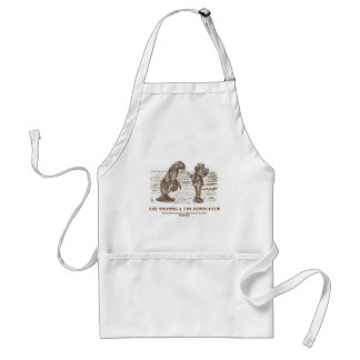 The Walrus And The Carpenter (Looking Glass) Standard Apron