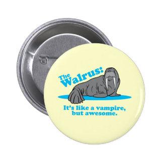 The Walrus Vampire Pins