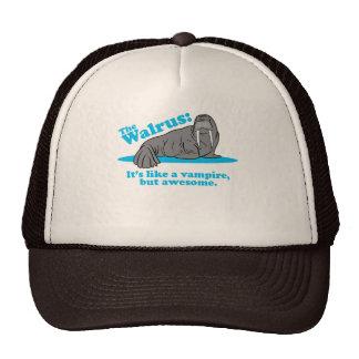 The Walrus Vampire Trucker Hat