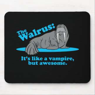 The Walrus Vampire Mouse Pad