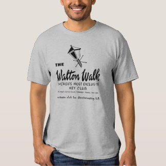The Walton Walk, Key Club, Chicago, IL T-shirt