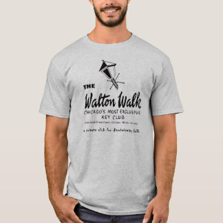 The Walton Walk, Key Club, Chicago, IL T-Shirt