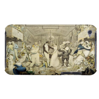 The Waltz (coloured engraving) Barely There iPod Case
