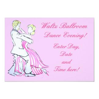 The Waltz Dancers Graphic design Card
