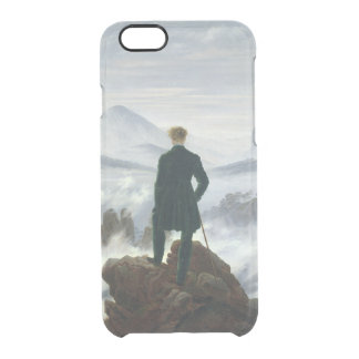 The Wanderer above the Sea of Fog, 1818 Clear iPhone 6/6S Case