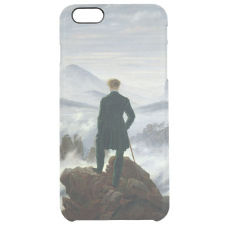 The Wanderer above the Sea of Fog, 1818 Clear iPhone 6 Plus Case