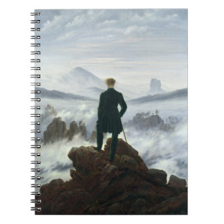 The Wanderer above the Sea of Fog, 1818 Notebook