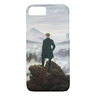 The Wanderer above the Sea of Fog Case-Mate iPhone Case