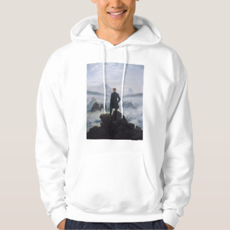 The wanderer above the sea of fog hoodie