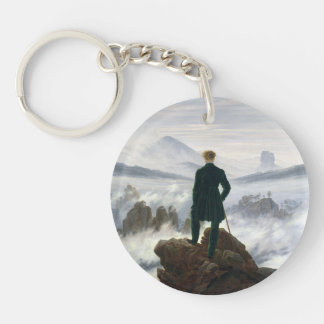 The Wanderer above the Sea of Fog Keychain