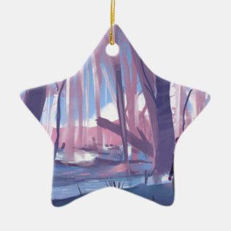 The Wandering Wanderer Ceramic Star Ornament