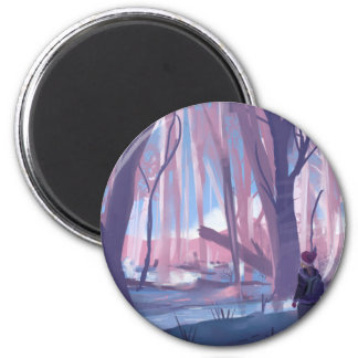 The Wandering Wanderer Magnet