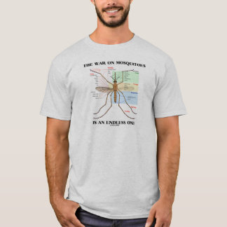 The War On Mosquitoes Is An Endless One (Mosquito) T-Shirt