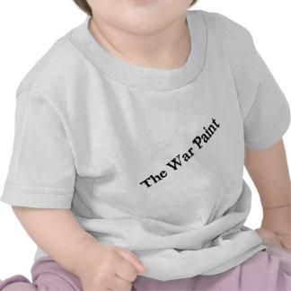 """The War Paint"" Black text logo Shirts"