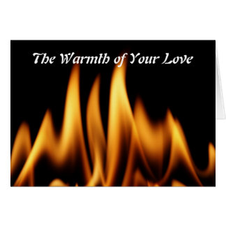 The Warmth of Your Love Greeting Card