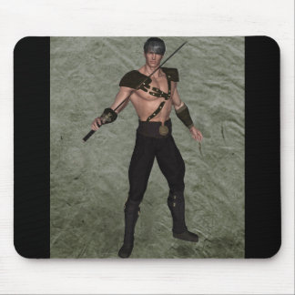 The Warrior 001 Mouse Pad