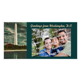 The Washington Monument Photocard Card