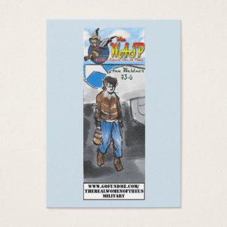 The WASP Ann Waldner Trading Card
