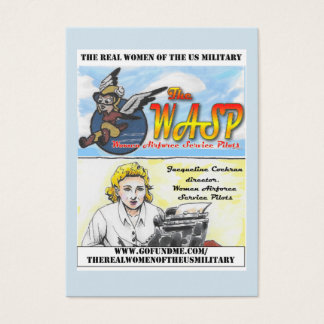 The WASP Jacqueline Cochran Trading Card