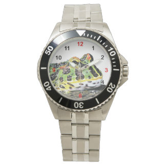 The watch of Argentine horned frog