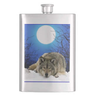 The Watcher Hip Flask