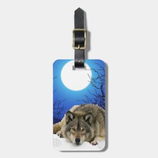 The Watcher Luggage Tag
