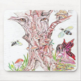 The Watcher of the woods Mousepads