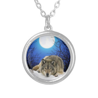 The Watcher Silver Plated Necklace