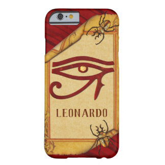 The Watchers Egyptian 3D Optical PERSONALIZE Barely There iPhone 6 Case