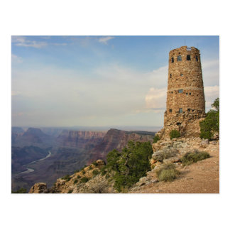The Watchtower at Desertview in Grand Canyon Postcard