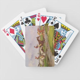 The Water Jump: the Autumn Steeplechase at Ballara Bicycle Playing Cards