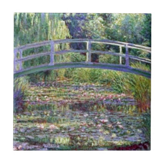 The Water Lily Pond by Claude Monet Tile