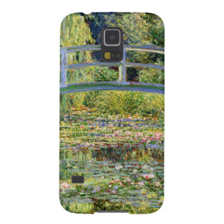 The Water-Lily Pond by Monet Fine Art Galaxy S5 Case