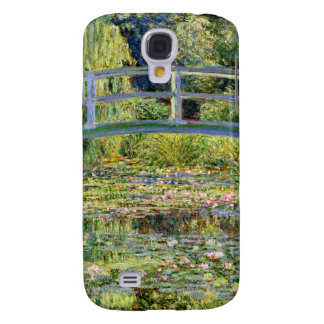 The Water-Lily Pond by Monet Fine Art Galaxy S4 Cases