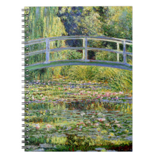 The Water-Lily Pond by Monet Fine Art Notebook