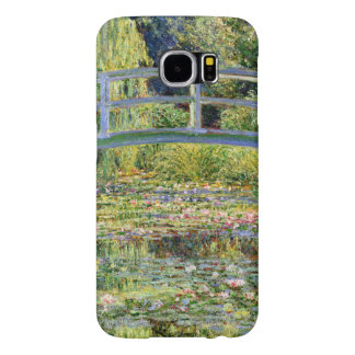 The Water-Lily Pond by Monet Fine Art Samsung Galaxy S6 Cases