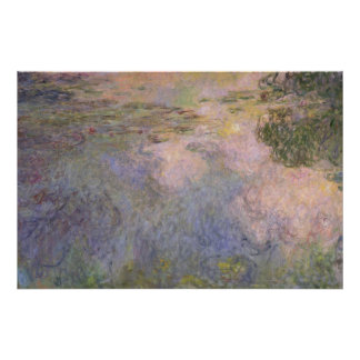 The Water-Lily Pond Poster