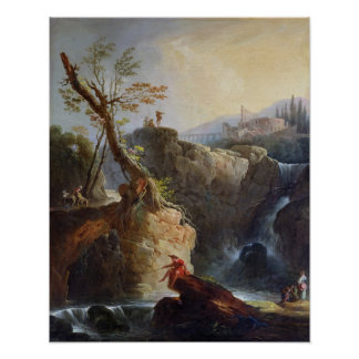 The Waterfall, 1773 Poster